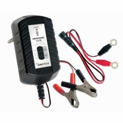 CHARGEUR DE BATTERIE 6-12V - 1,5A pour batterie 8-40 Ah