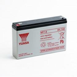 Batterie NP7-6 YUASA 6V 7Ah