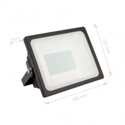 Projecteur LED SMD 80W 135lm/W