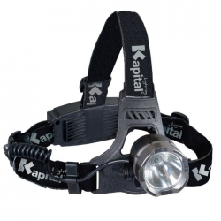 Frontale multimodes rechargeable 140 Lumens