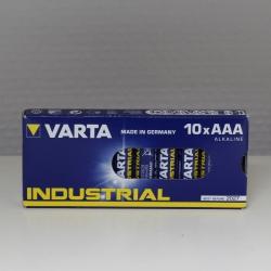 CELLO DE 4 PILES ALCALINE VARTA INDUSTRIAL FORMAT AAA LR03