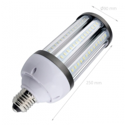 Lampe LED Éclairage Public Corn E40 40W