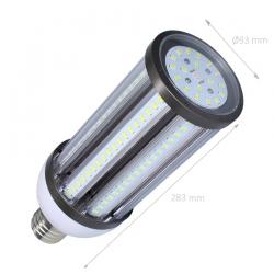 Lampe LED Éclairage Public Corn E40 54W 6000°K