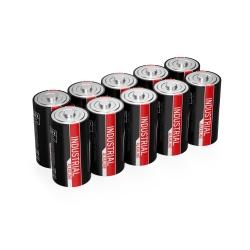 10 piles LR14 C ANSMANN INDUSTRIAL ALKALINE