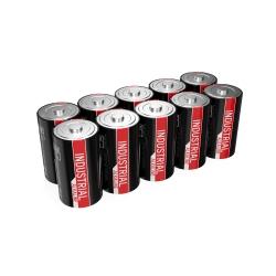 10 piles LR20 D ANSMANN INDUSTRIAL ALKALINE