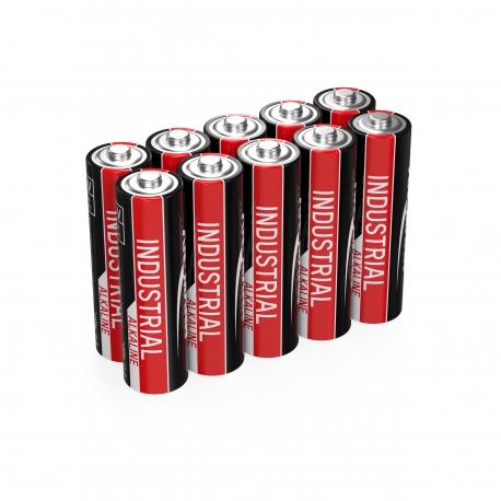 10 piles LR06 AA ANSMANN INDUSTRIAL ALKALINE