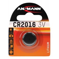 CR2016 - Blister de 1 pile ANSMANN Lithium 3V