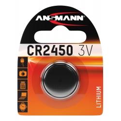 CR2450 - Blister de 1 pile ANSMANN Lithium 3V