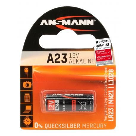 1 pile A23 (1 Blister) ANSMANN