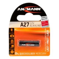 1 pile A27 - 12V (1 Blister) ANSMANN