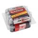 BOX 20 piles LR06 AA ANSMANN ALKALINE RED LINE
