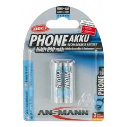 NiMH Pile rechargeable AAA / HR03 800 mAh maxE 2 pcs.