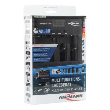 Chargeur ANSMANN - Powerline 5 Pro