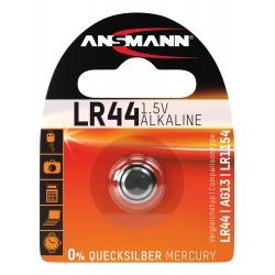Pile alcaline LR44 / LR1154 / AG13 ANSMANN 1.5V