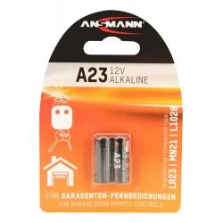 2 Piles alcaline A23 / LR23 ANSMANN