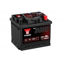 Batterie 12V 45Ah 425A Yuasa SMF YBX3063