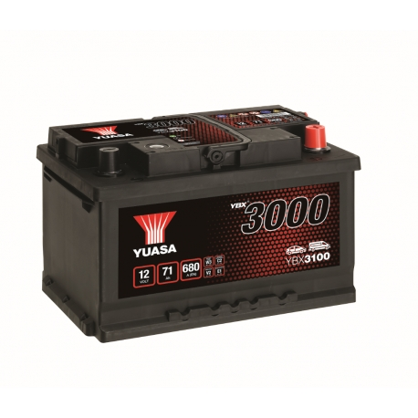 Batterie 12V 71Ah 650A Yuasa SMF YBX3100