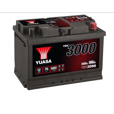 Batterie 12V 75Ah 650A Yuasa SMF YBX3096