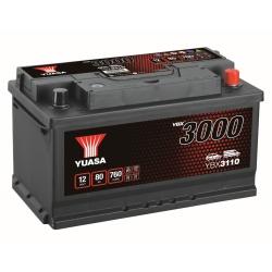Batterie 12V 80Ah 720A Yuasa SMF
