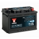 Batterie 12V 75Ah 700A Yuasa EFB Start Stop YBX7096
