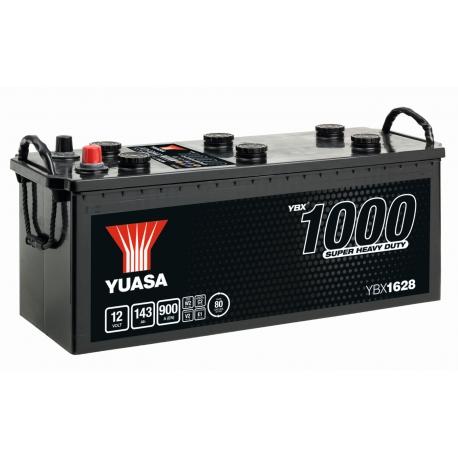 BATTERIE YUASA YBX1628 12V 143AH 900A