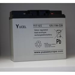 Batterie Y17-12IFR YUCEL 12V 17Ah