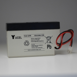 Batterie Y0.8-12FR YUCEL 12v 0.8Ah