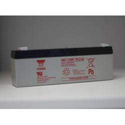 Batterie NP2.1-12 YUASA 12V 2.1Ah