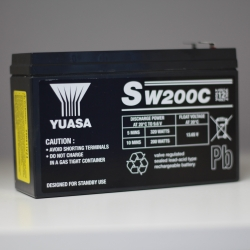 BATTERIE SW200C YUASA 12V 5.8AH