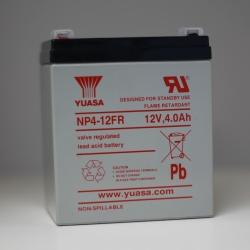 Batterie NP4-12 YUASA 12V 4Ah