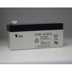 Batterie Y3.2-12FR Yucel 12V 3.2Ah