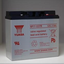 Batterie NP17-12 YUASA 12V 17Ah