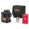 Laser multilignes GEOFENNEL Geo6X SP 3X360° rouge