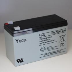 Batterie Y7-12 YUCEL 12V 7Ah
