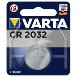 Pile bouton lithium Varta CR2032