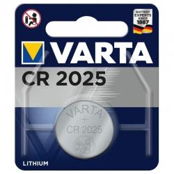 Pile bouton lithium Varta CR2025