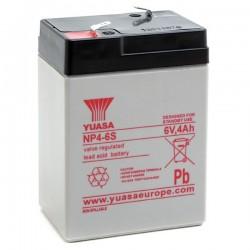 Batterie NP4-6 YUASA 6V 4Ah