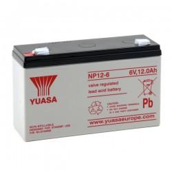 Batterie NP12-6 YUASA 6V 12Ah