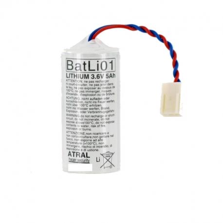 Batterie d'alarme pour Daitem BATLI01